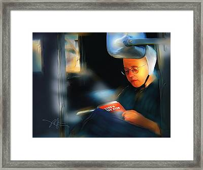 Life's Other Side Framed Print by Bob Salo