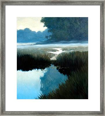 Lifting Fog Framed Print by Kevin Lawrence Leveque