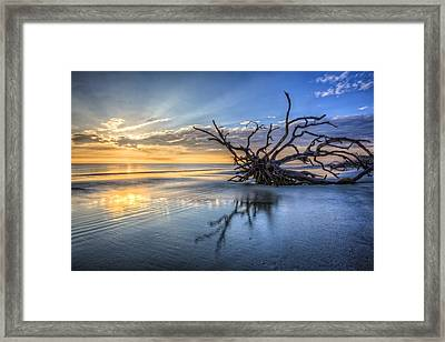 Light At Dawn Framed Print by Debra and Dave Vanderlaan