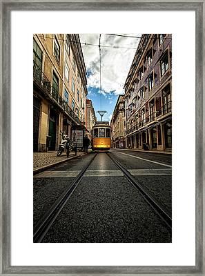 Light Framed Print by Jorge Maia