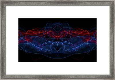 Light Motion Series 2 Framed Print by Nathan Larson