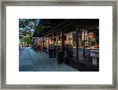 Light Street Framed Print by Jim Archer