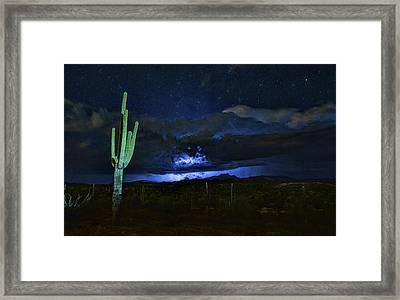 Light Up The Night  Framed Print by Saija Lehtonen