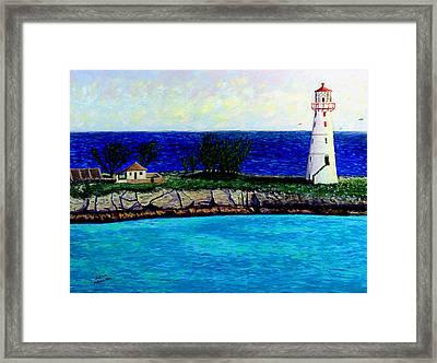 Lighthouse IIi Framed Print by Stan Hamilton