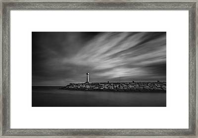 Lighthouse Framed Print by Stelios Kleanthous