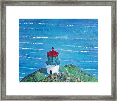 Lighthouse Framed Print by Tony Rodriguez