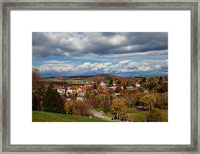 Framed Print featuring the photograph Ligonier Valley by April Reppucci
