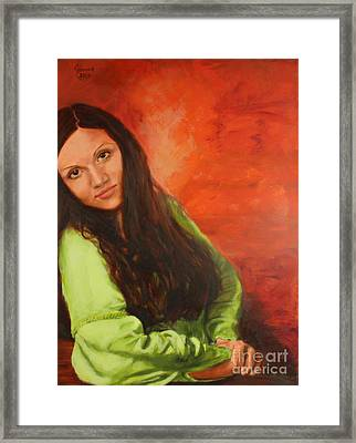 Liliia Framed Print