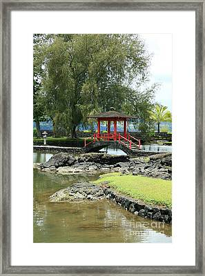 Liliuokalani Gardens Framed Print by Peter French - Printscapes