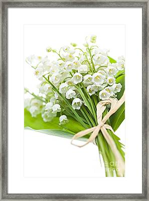 Lily-of-the-valley Bouquet Framed Print