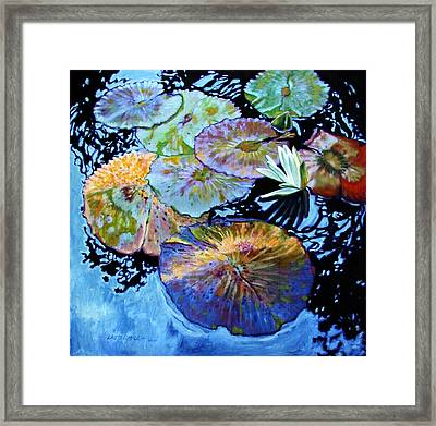 Lily Pad Palettes Framed Print