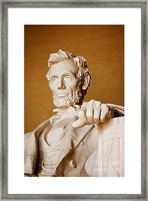 Lincoln Memorial Framed Print by Brian Jannsen