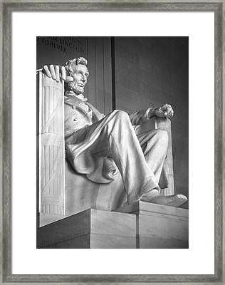Lincoln Memorial Framed Print by Mike McGlothlen