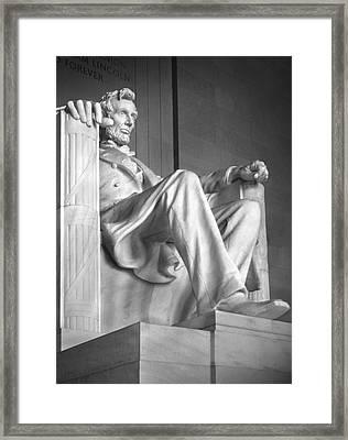 Lincoln Memorial Framed Print by Mike McGlothlen