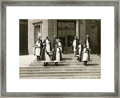 Lincoln School For Nurses Framed Print