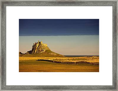 Lindisfarne, Northumberland, England A Framed Print
