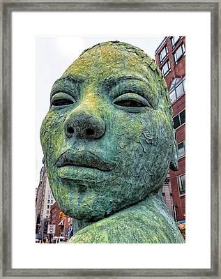 Lionel Smit Scupture Union Square Park Framed Print