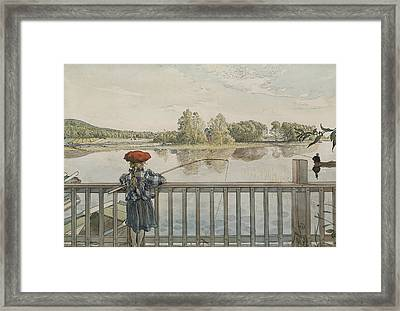 Lisbeth Angling. From A Home Framed Print