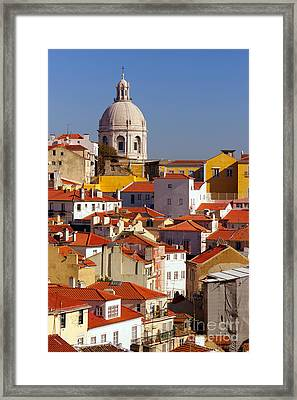 Lisbon View Framed Print
