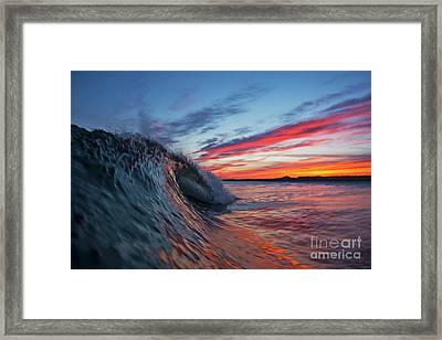 Lit Up Framed Print by Russ LaScala