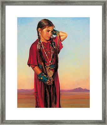Little American Beauty I Framed Print
