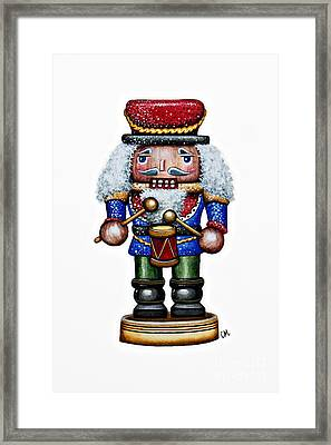 Little Drummer Boy Framed Print by Christina Meeusen