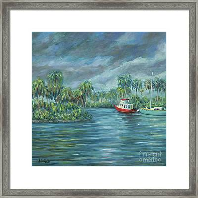 Little Florida Framed Print by Danielle Perry