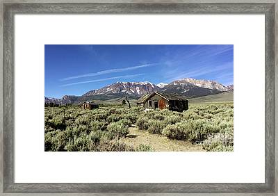 Framed Print featuring the photograph Little House by Joseph G Holland