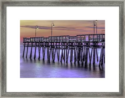 Little Island Pier Framed Print