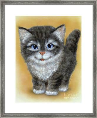 Little Kitten 3 Framed Print