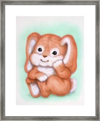 Little Rabbit 4 Framed Print
