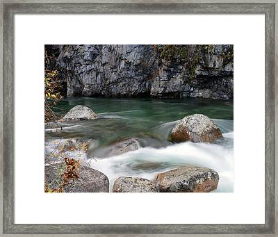 Little Susitna River Framed Print