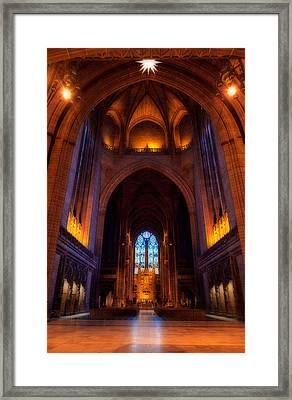Liverpool Cathedral, Church Of England Framed Print by Panoramic Images