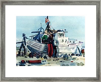 Living Onboard Framed Print by Donald Maier