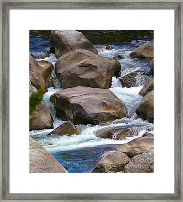 Framed Print featuring the photograph Living Waters by Robert Pearson