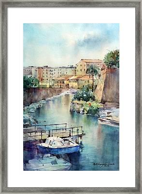 Livorno - Italy Framed Print by Natalia Eremeyeva Duarte