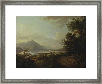 Loch Awe, Argyllshire Framed Print by Alexander Nasmyth