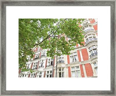 London Building Exterior Framed Print