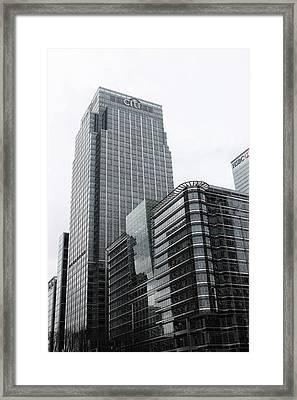 London Docklands Framed Print