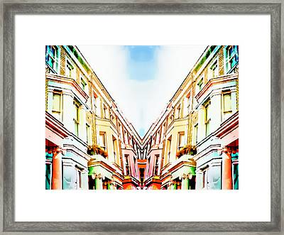 London Houses Framed Print