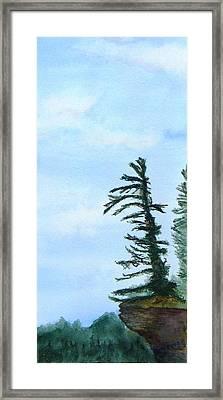 Lone Sentinel Framed Print