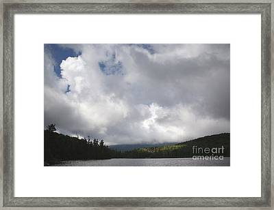 Lonesome Lake - White Mountains New Hampshire Usa Framed Print