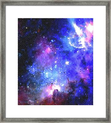 Look At The Stars Framed Print