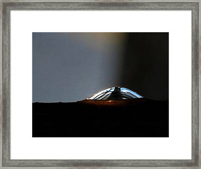 Framed Print featuring the photograph Look Inside by Marilynne Bull