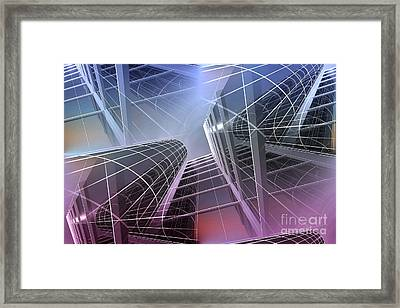 Look Into The Sky Framed Print
