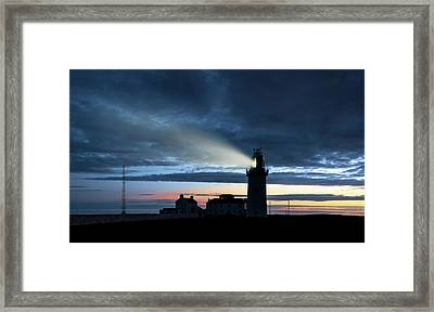 Loophead Lighthouse Framed Print by Svetlana Sewell