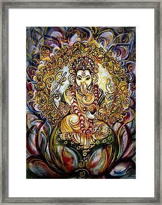 Lord Ganesha Framed Print by Harsh Malik