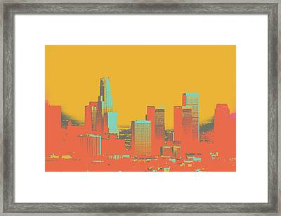 Los Angeles Framed Print by Shay Culligan