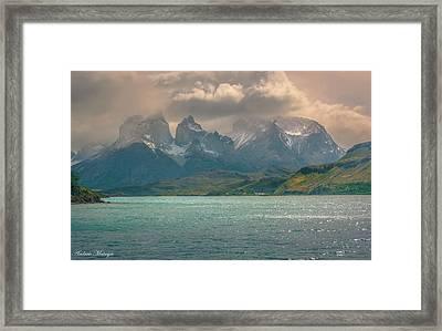 Los Cuernos  Framed Print by Andrew Matwijec