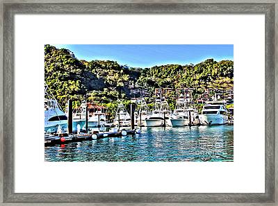Los Suenos Framed Print by Carey Chen